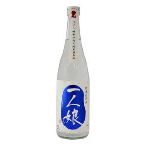 ワイン酵母仕込み純米酒(熟成)720ml 一人娘